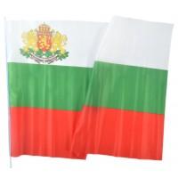 Българско знаме с герб 70 х 120 см.