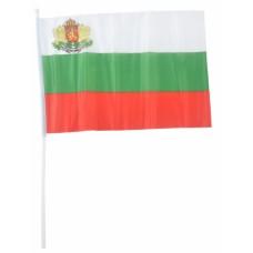Българско знаме с герб 20 х 28 см.