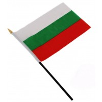 Българско знаме за бюро 14 х 21 см