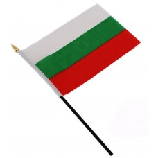 Българско знаме за бюро 14 х 20 см