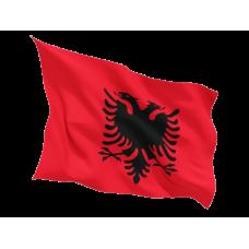 Знаме на Албания 90 х 155 см