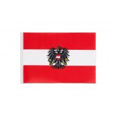 Знаме на Австрия с герб 19 х 30 см.