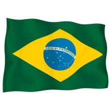 Знаме на Бразилия 90 х 150 см