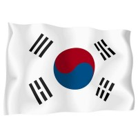 Знаме на Южна Корея 90 х 150 см