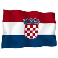 Знаме на Хърватска 90 х 155 см