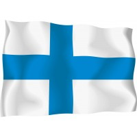 Знаме на Финландия 90 х 150 см.