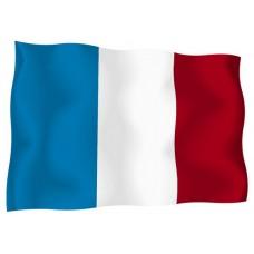 Знаме на Франция 90 х 150 см