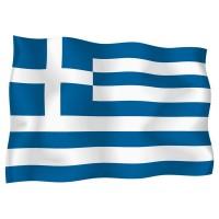 Знаме на Гърция 90 х 150 см