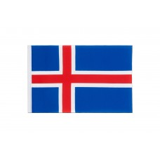 Знаме на Исландия 19х 30 см.