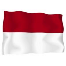 Знаме на Индонезия 90 х 145 см