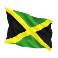 Знаме на Ямайка 90 х 150 см