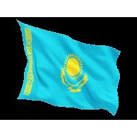 Знаме на Казахстан 90 х 150 см