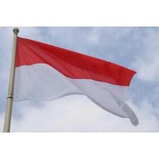 Знаме на Монако 20 х 30 см