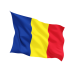 Знаме на Румъния 14 х 21 см.