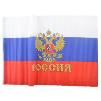 Знаме на Русия с герб 90 х 135 см.
