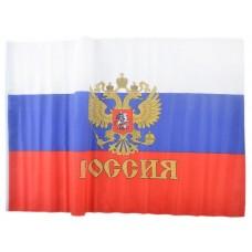 Знаме на Русия с герб 60 х 90 см.