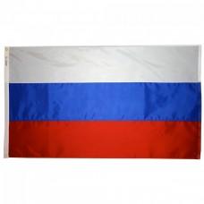 Знаме на Русия 14 х 21 см.