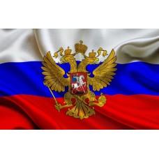 Знаме на Русия 30 х 45 см.