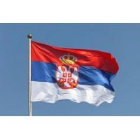 Знаме на Сърбия 90 х 145 см.