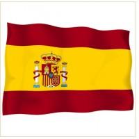 Национално знаме на Испания 90 х 150 см