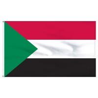 Знаме на Судан 20 х 30 см