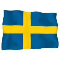 Знаме на Швеция 90 х 150 см.