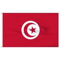 Знаме на Тунис 20 х 30 см